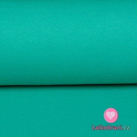 Náplet jednobarevný tyrkysový