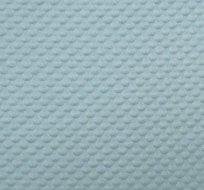 Pletenina plastické bublinky mořská modrá s nádechem do zelena
