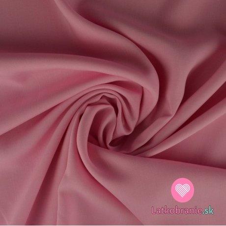 Viskóza jednobarevná světle růžová
