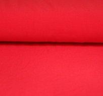 Jednobarevný úplet červený melounový 215g-ZBYTEK