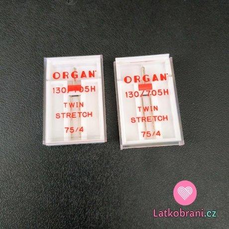 Dvojjehla 705 H-ZWI STRETCH 75/2,5-4,0 rozteč 4,0 mm