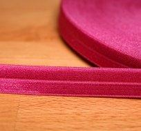 Šikmý proužek / lemovací pruženka amarant