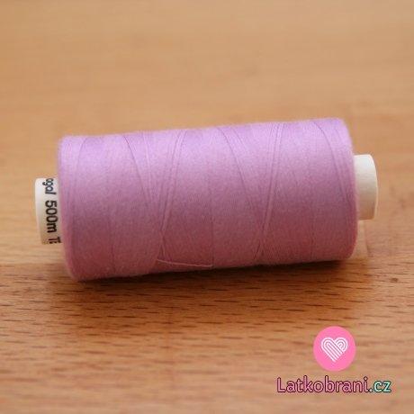 Nitě hagal - fialová lila 500 m (14x2)