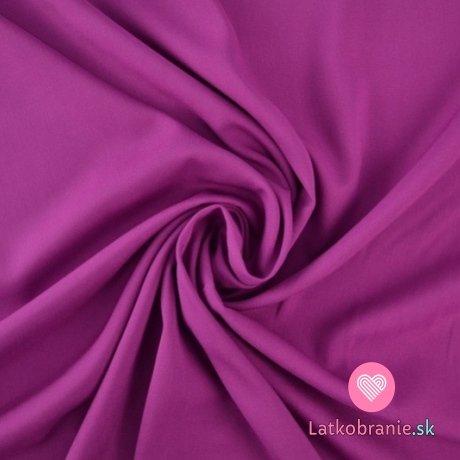 Viskóza jednobarevná fuchsiově růžová