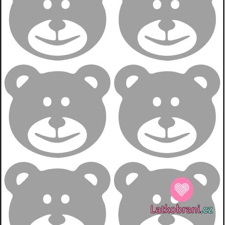 Reflexní nažehlovačka medvědi