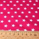 Úplet hvězdy malé na růžové pink 5mm