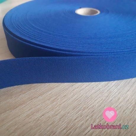 Pruženka barevná královsky modrá 25 mm