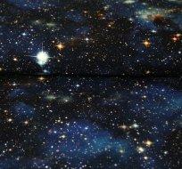 Teplákovina galaxie, hvězdy