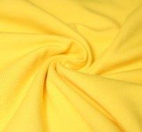 Jednobarevný úplet žlutý sytý 180g