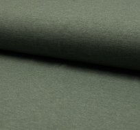 Jednobarevný úplet khaki melange