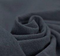 Teplákovina jednobarevná tmavě modrá melange 290g