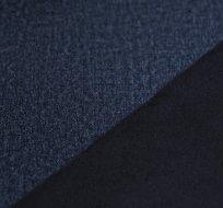 Softshell strečový melé tmavě modré navy s fleecem