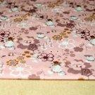 Úplet roztomilá myška na růžové