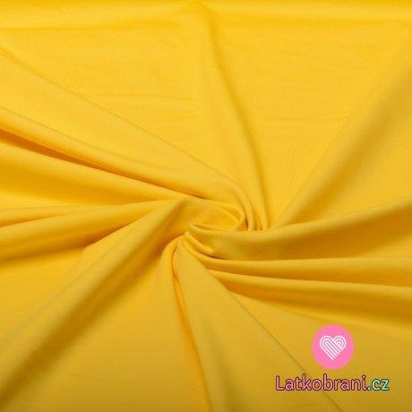 Jednobarevný úplet žlutý 240 g