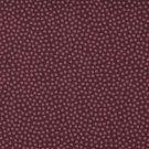 Bavlněné plátno drobné růžové puntíky na bordó