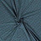 Úplet potisk kotvičky v medailonku na modrých proužcích