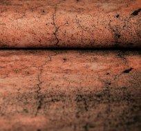 Borudra teplákovina zemina oranžová