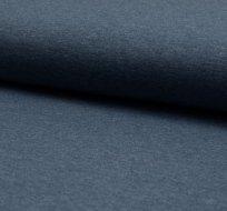 Jednobarevný úplet modrošedá tmavá melange