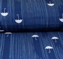 Softshell deštník na tmavě modré