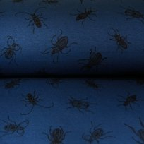 Warmkeper brouk na jeansově modré tmavé