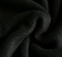 Polar fleece černý antipilling 250g