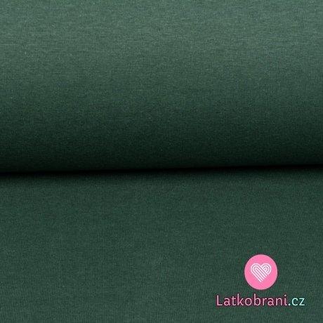 Náplet jednobarevný tmavě zelený