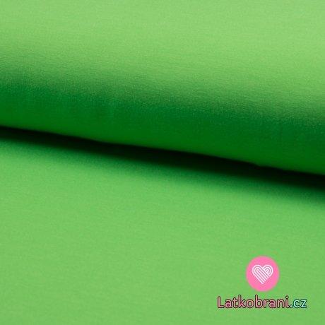 Teplákovina neon zelená